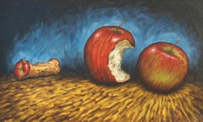 Consumer, Oil on canvas, 65 x 40 cm